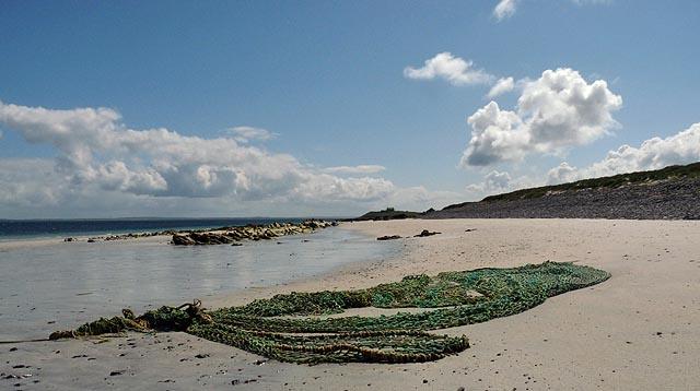 Beach, Mae Banks, Egilsay, Orkney