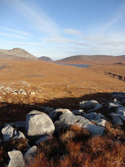 Looking towards Loch Tanna