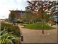 SJ8097 : The Plaza, MediaCity UK by David Dixon