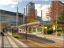 SJ8097 : MediaCity UK Metrolink Terminus by David Dixon