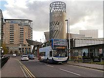 SJ8097 : The Quays, Lowry Square by David Dixon