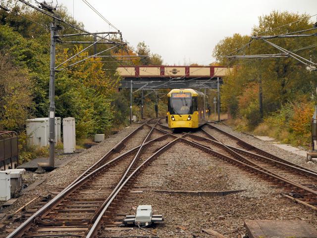 Tram at Bury
