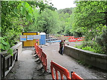 J3730 : Path closed during the construction of the Glen River HEP scheme by Eric Jones