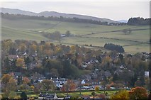 NT2540 : South Peebles from Ven Law (2) by Jim Barton