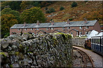 NY1700 : Cottages at Dalegarth, Cumbria by Peter Trimming