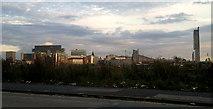 SJ8298 : Manchester skyline by Steven Haslington