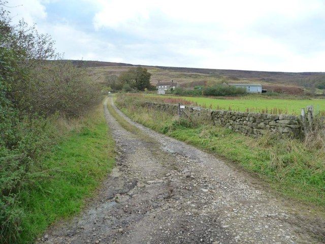 The track to High House Farm