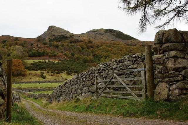 Gateway in Eskdale, Cumbria