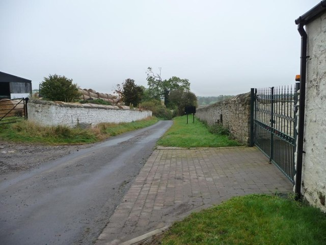 The road to Walworth Gate, Houghton-le-Side