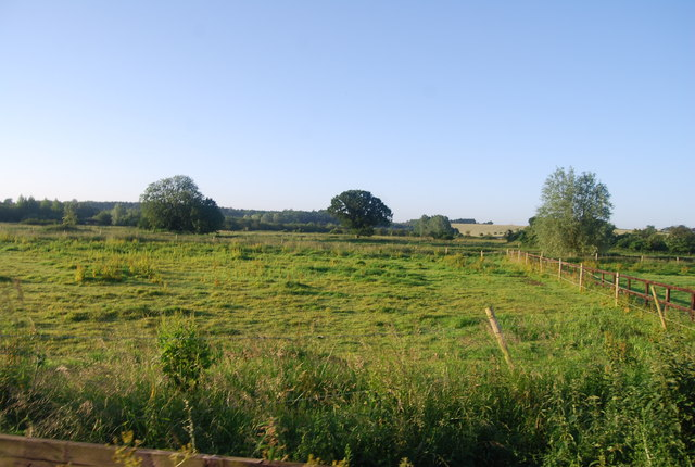 Field in the Yare valley