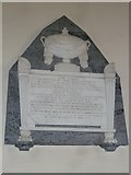 ST5707 : Melbury Osmond Church: memorial (f) by Basher Eyre