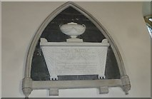 ST5707 : Melbury Osmond Church: memorial (i) by Basher Eyre