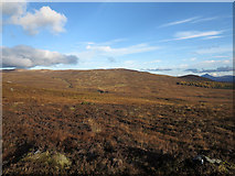 NN5265 : Moorland  to east of Sron a' Chlaonaidh by Trevor Littlewood
