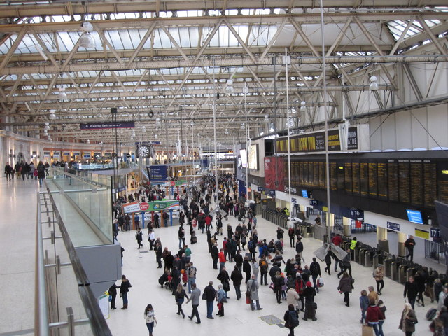 Waterloo Station Concourse
