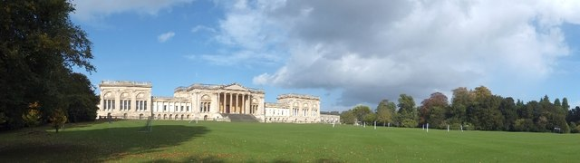 Panorama of south front of Stowe House