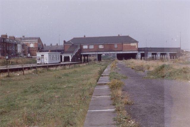 Blackpool South railway station, 1983