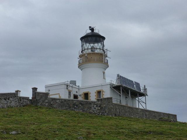 Flannan Isles: the lighthouse