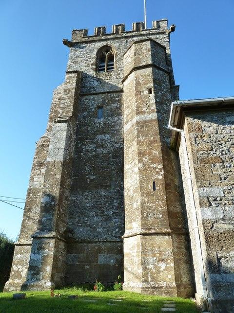 SS Andrew & Peter, Toller Porcorum: tower (2)