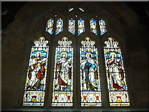 SY5697 : SS Andrew & Peter, Toller Porcorum: stained glass window  (b) by Basher Eyre