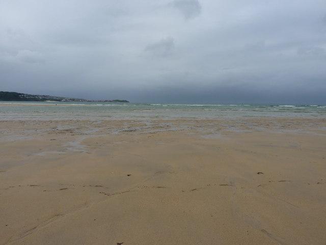 Well out on Mexico Towans beach