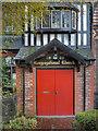 SJ8690 : Heaton Mersey Congregational Church by David Dixon