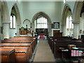 TL1864 : St Leonard's Church Southoe, Interior by Alexander P Kapp