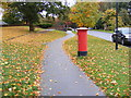 TM2851 : St.Audry's Park Road Postbox by Adrian Cable