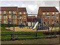 SK6105 : Play Area off Moreton Road by Alex McGregor