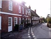 TQ8455 : Upper Street, Hollingbourne by Bikeboy