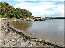 NX6548 : High tide in Nun Mill Bay by Ann Cook