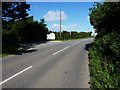 SW6946 : Entrance to the Porthtowan Tourist Park by Richard Law
