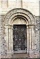 TR2650 : South doorway by Richard Croft