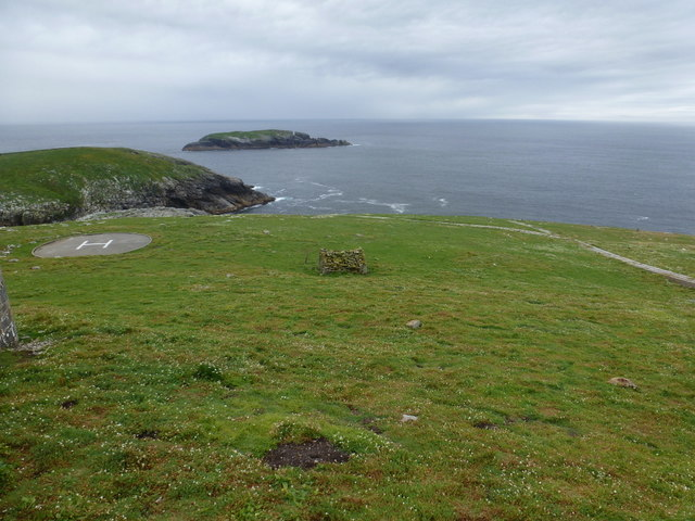 Flannan Isles: southward view from the lighthouse