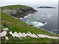 NA7246 : Flannan Isles: steep steps by Chris Downer