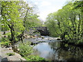 NY3403 : Skelwith  Bridge  and  River  Brathay by Martin Dawes