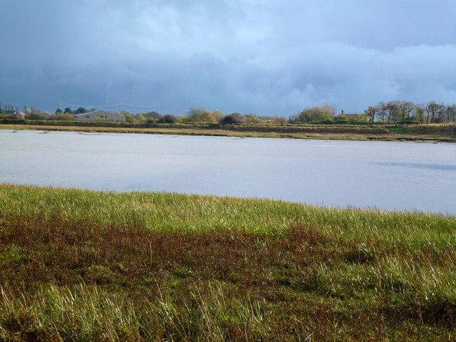 River Wyre northwest of Hambleton