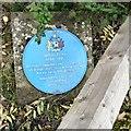SJ9799 : Blue plaque: Jethro Tinker (1788-1871) by Gerald England