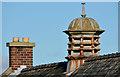 J3671 : Chimneys and lantern, Cregagh, Belfast by Albert Bridge