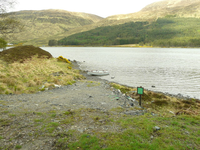 Boat bay, Loch More