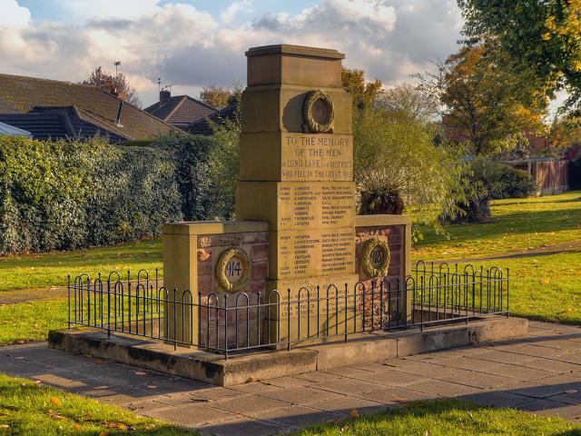 Long Lane War Memorial