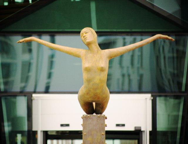 """""""Titanica"""" statue, Belfast"""