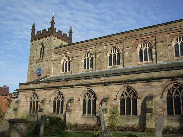 St Mary's church, Moseley, Birmingham