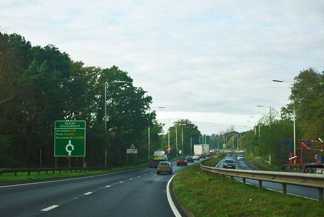 A31 - Azalea roundabout ahead