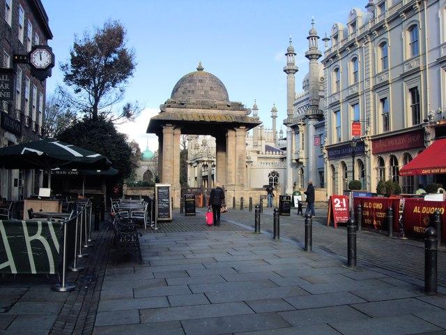 Brighton Pavilion South Gate