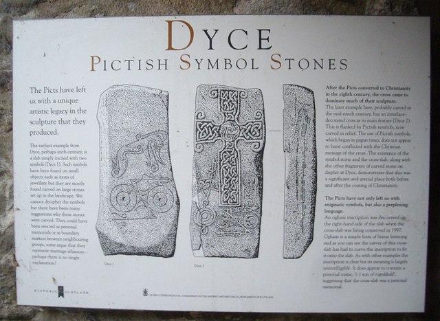 Dyce Pictish Symbol Stones