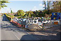 SU4824 : Rebuilding Littlebourne Lodge, Hazeley Road by Peter Facey