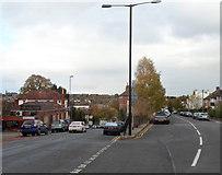 ST5777 : A sharp road junction, Westbury on Trym, Bristol by Jaggery