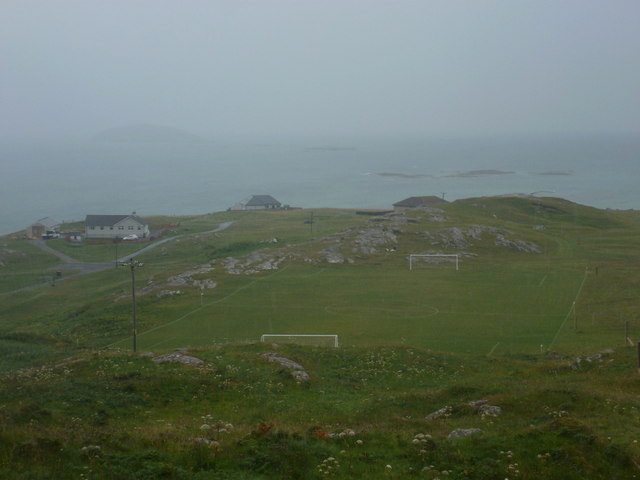 Eriskay: the football pitch