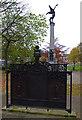 SK3387 : War memorials, Weston Park by Ian Taylor