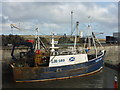 NU2232 : Leith Registered Fishing Boats : Endeavour (LH169) at Seahouses Harbour, Northumberland by Richard West